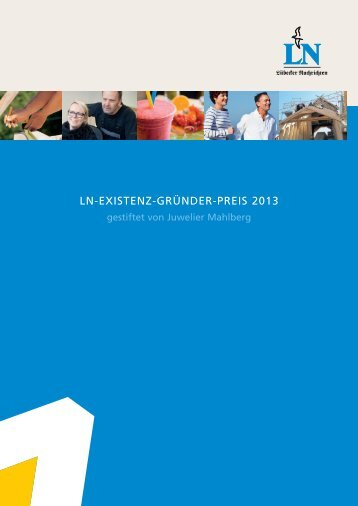 LN-EXISTENZ-GRÜNDER-PREIS 2013