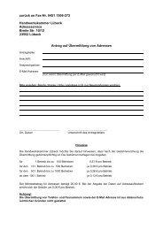 zurück an Fax-Nr. 0451 1506-272 Handwerkskammer Lübeck ...