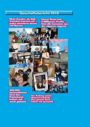 Geschäftsbericht HWK Halle 2010.indd - Handwerkskammer Halle