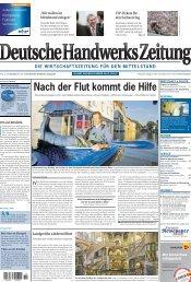 Ausgabe 11 (Erscheinungstag 14. Juni 2013) - Handwerkskammer ...