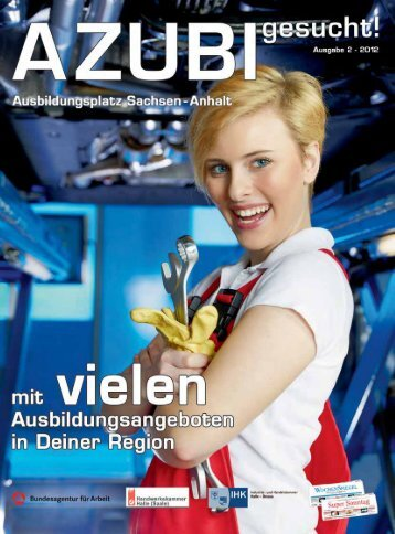 AZUBI gesucht 2012 - Handwerkskammer Halle