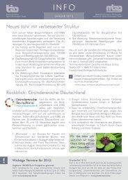 Info April 06 - Bürgschaftsbank Baden-Württemberg Gmbh
