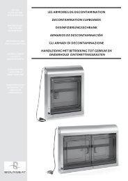 les armoires de decontamination decontamination cupboards ...