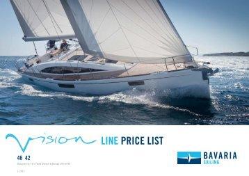 LINE PRICE LIST - Bavaria-yachting.gr