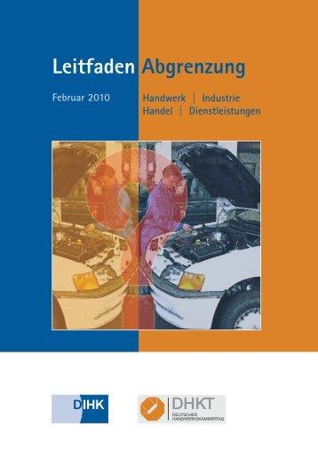 Leitfaden Abgrenzung - IHK Region Stuttgart - IHKs