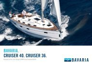 CRUISER 36_40.indd - Bavaria-yachting.gr