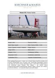 Hanse 315 / Hanse Yachts www.kirchner-mares.com - Boat Net