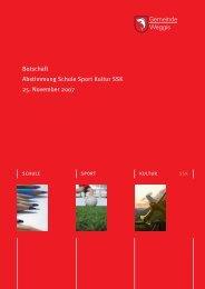 SSK Abstimmungsbotschaft [PDF, 2.00 MB] - Gemeinde Weggis
