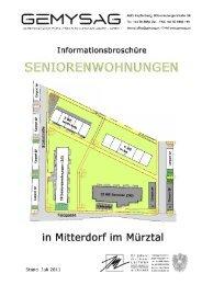 wa mitterdorf 5.ba - seniorenwohnhaus - GEMYSAG