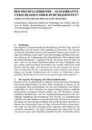 Burnout_Hochschullehrer - HWR Berlin