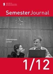 SemJour 2012 1.pdf, Seiten 8-9 - Hochschule für Wirtschaft und ...