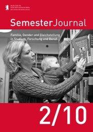 SemesterJournal 2/10 - MBA Programme der HWR Berlin