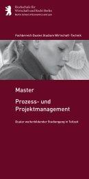Prozess - Hochschule für Wirtschaft und Recht Berlin