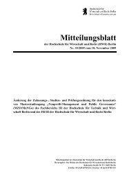 Nonprofit-Management und Public Governance - Hochschule für ...