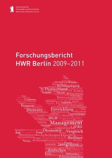 HWR Forschungsbericht 2009-2011 .pdf, Seiten 12-17