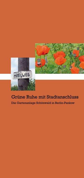 Grüne Ruhe mit Stadtanschluss - Hilfswerk-Siedlung GmbH