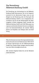 Grüne Ruhe mit Stadtanschluss - Hilfswerk-Siedlung GmbH - Seite 4