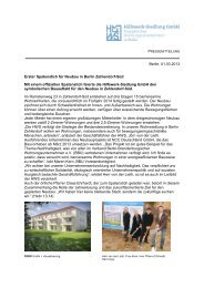 Erster Spatenstich für Neubau in Berlin Zehlendorf-Süd - Hilfswerk ...