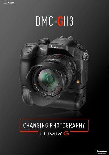 la fiche produit complète du Panasonic GH3 - hybridcams.fr