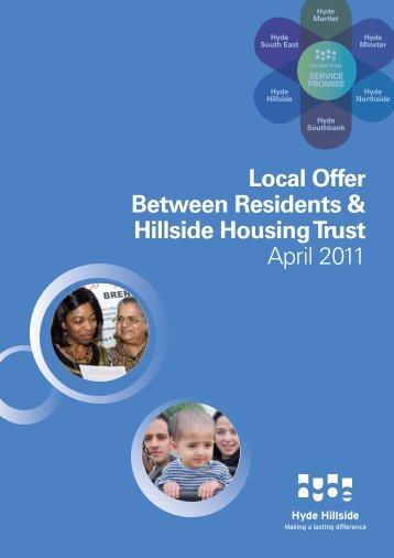 Local Offer Booklet Hillside - Hyde Housing Association