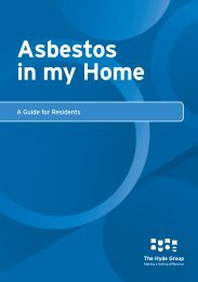 Asbestos in my Home - Hyde Housing Association
