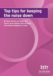 Noise Awareness - Hyde Housing Association