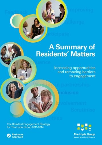 A Summary of Residents' Matters - Hyde Housing Association