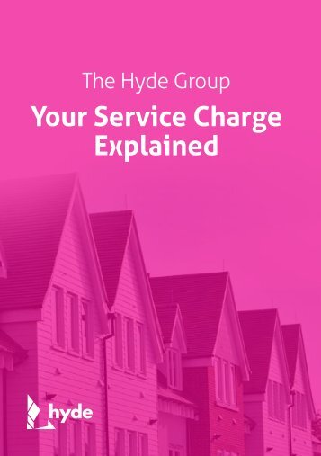 Your Service Charge Explained - Hyde Housing Association