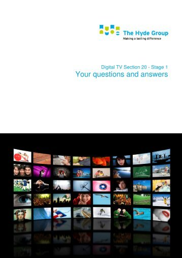 Your questions and answers - Hyde Housing Association