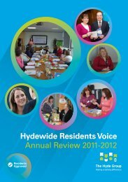 HRV Annual Review 2011-12 - Hyde Housing Association