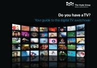 Do you have a TV? - Hyde Housing Association