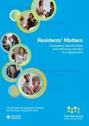 Residents' Matters - Hyde Housing Association