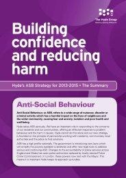 Anti-Social Behaviour - Hyde Housing Association