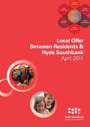 Local Offer Booklet Southbank - Hyde Housing Association