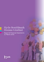 Hyde Southbank Homes Limited - Hyde Housing Association