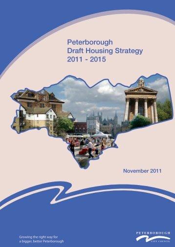 Draft Peterborough Housing Strategy 2011-15 Web Version