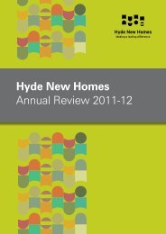 Hyde New Homes Annual Review 2011-12 - Hyde Housing ...