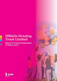 Hillside Housing Trust Limited - Hyde Housing Association