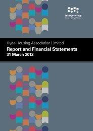2012 - Hyde Housing Association