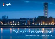 The road to regeneration - Hyde Housing Association