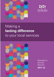 Making a lasting difference to your local services - Hyde Housing ...