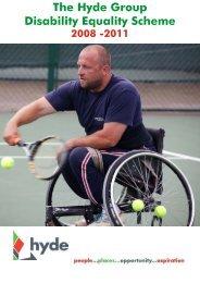 Disability Equality Scheme - Hyde Housing Association