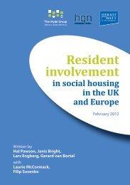 Resident involvement - Hyde Housing Association