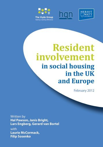 Resident involvement - Hyde Housing Association