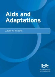 Aids and Adaptations - Hyde Housing Association