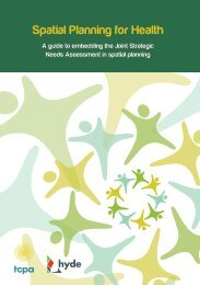 Spatial Planning for Health A guide to... - Hyde Housing Association
