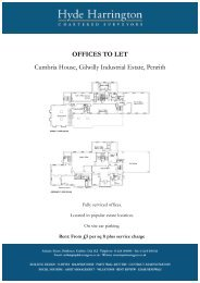 OFFICES TO LET Cumbria House, Gilwilly ... - Hyde Harrington
