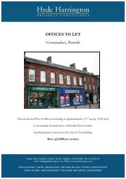 OFFICES TO LET Cornmarket, Penrith - Hyde Harrington