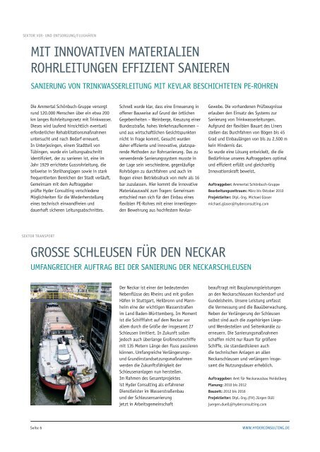 Hyder Consulting Information Ausgabe 06   November 2010