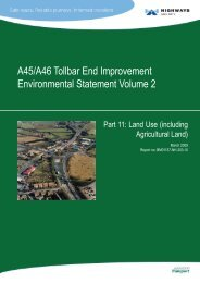 A45/A46 Tollbar End Improvement ... - Hyder Consulting
